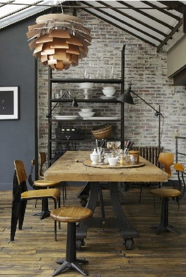 industrial - Click image to find more Design Pinterest pins