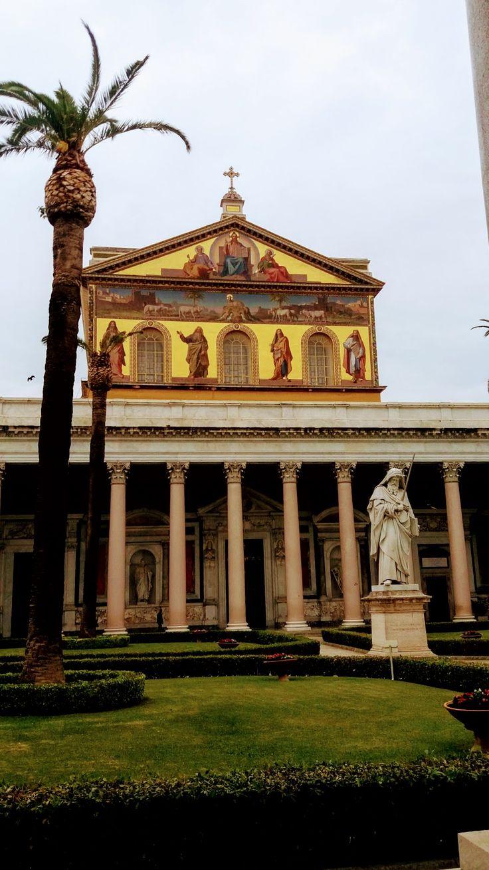 BASILICA SAN PAOLO FUORI LE MURA, ROME, ITALY