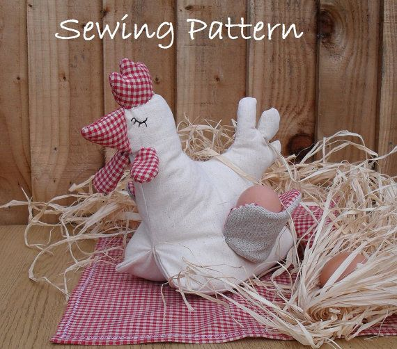 121 best easter ideas images on pinterest easter ideas felt pdf sewing pattern mrs hen tutorial diy by puppetsinabag negle Gallery