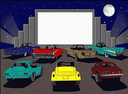 how to build a drive in movie screen