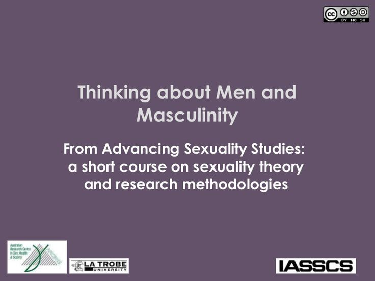 #scriptchat What is Hegemonic Masculinity?