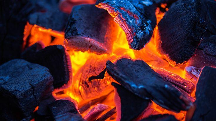 Hot Charcoal 4k  #4k #Charcoal #Hot