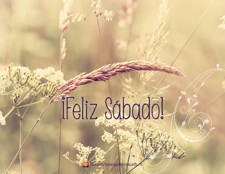 #FelizSabado #Sabado