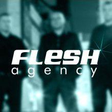 LOGO Agencji FLESH AGENCY WWW.DJNAIMPREZE.INFO