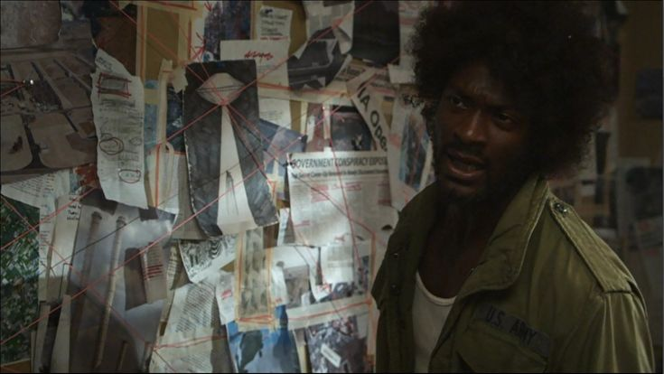 Wall-o-crazy in Leverage
