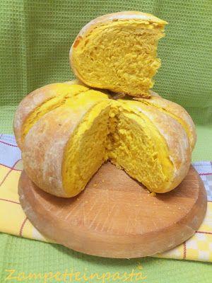 Pane di zucca - Pumpkin bread  http://zampetteinpasta.blogspot.it/2016/11/pane-di-zucca_4.html