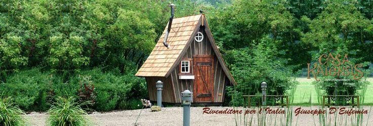 Casa Mirabilia, uno dei prodotti architettonici da giardino Made in Germany di Casa Kaiensis