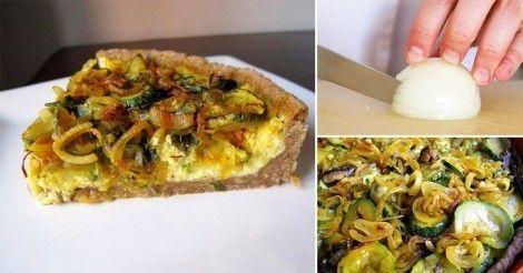 Tarta+multicereal+de+vegetales+y+ricota