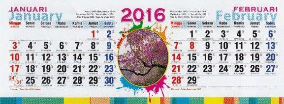 Kalender Alam Dunia 2016 2