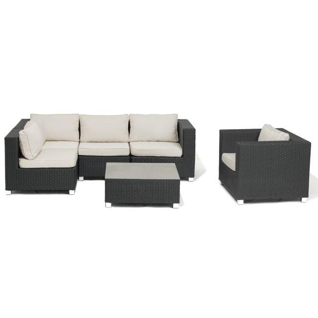 Palma Combination, 3-sits hörnsoffa, fåtölj och bord | TheHome.se