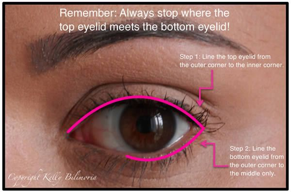 How to apply eyeliner after 40   40plusstyle.com