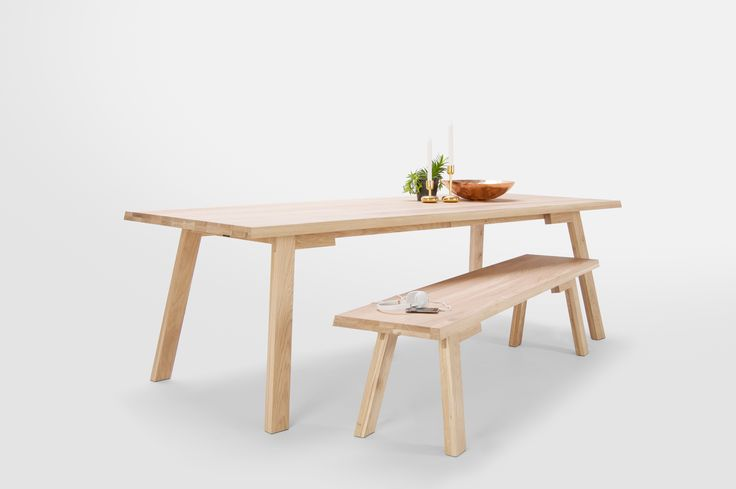 The Catwalker was inspired by the catwalks of the fashion world and crafted in Holland from robust solid oak. Whether the backdrop for eating, partying or working, it's sure to become a dynamic and indispensable player in your space.