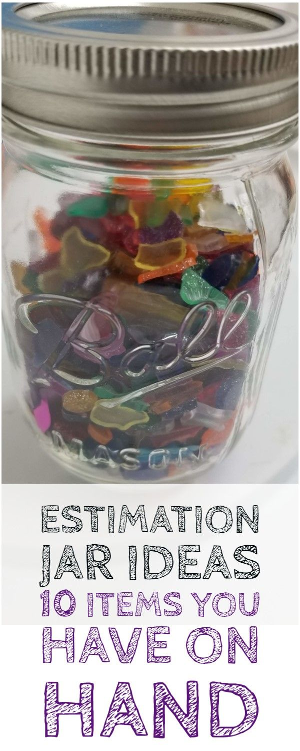 Estimation Jar Ideas That Will Get Kids Thinking That After School Life Guessing Jar Fun Stem Activities Critical Thinking Activities