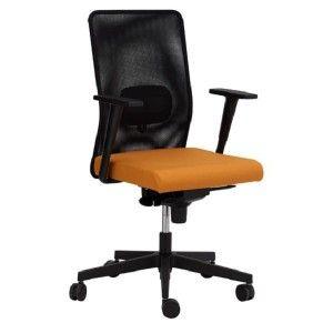 Silla de oficina con respaldo alto con malla. Modelo Thais a la venta en http://www.mueblesaciertos.com/sillas-con-ruedas-giratorias/686-silla-de-oficina-thais1.html