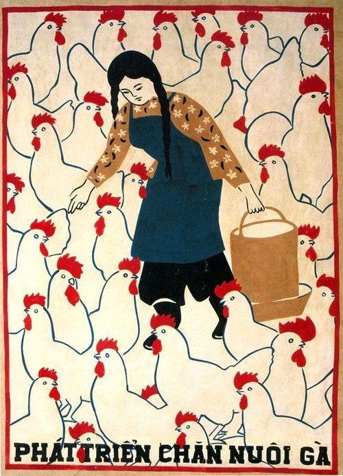 goodmemory: Vietnam poster. Unknown artist