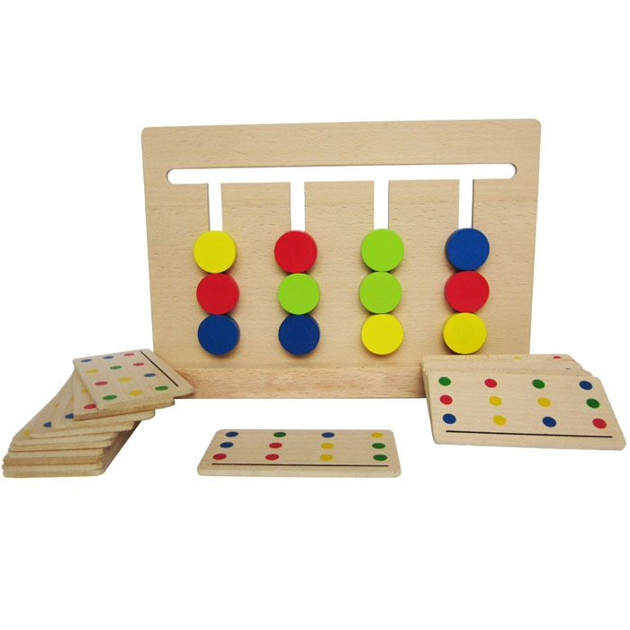 >> Click to Buy << Baby Toy Montessori Four Colors Game Color Matching for Early Childhood Education Preschool Training Learning Toys #Affiliate