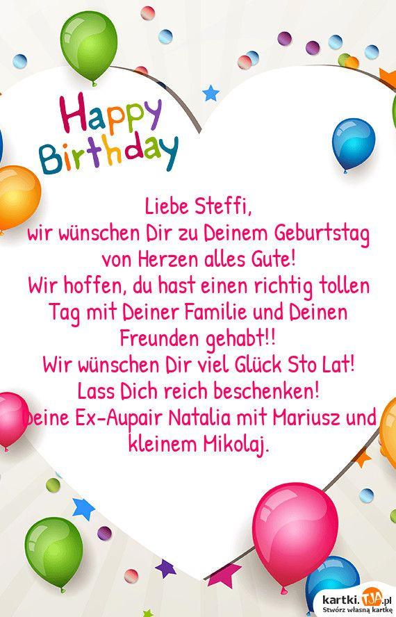 Zu Deinem Geburtstag Wünschen Wir Dir Alles Gute
