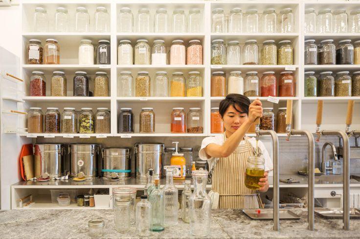 kitchen staples a zero waste store in vancouver in 2020 zero waste store bulk store zero waste on zero waste kitchen interior id=24484