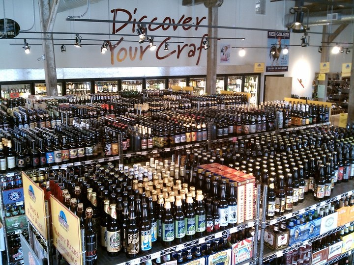 A Fraction of Our Beer  This is what you've all been coming for- the beer! Just about anything in the store is available as a keg, so give us a call and we'll hook you up!