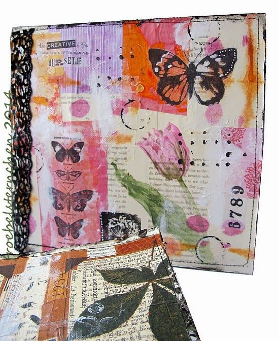 Junk Journal Workshop with Susi - Workshopvideo Recyclingjournal mit Susi