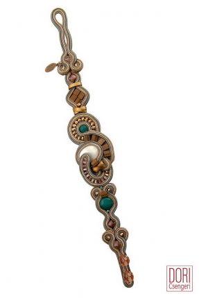 Muse delicate pastel colors bracelet by Dori Csengeri  #DoriCsengeri #pastels #pastelcolors #delicate #bracelet