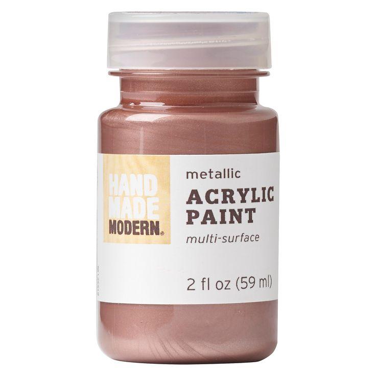 Hand Made Modern - 2oz Acyrlic Paint - Metallic : Target