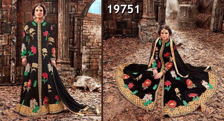 Designer New Indian Kameez Anarkali Dress Ethnic Suit Bollywood Pakistani Salwar #TanishiFashion