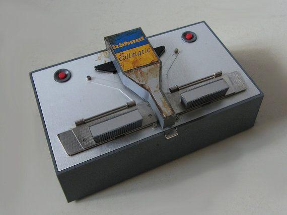 Vintage 8 mm And Super 8 Film Splicer by uhlalalebrocantage
