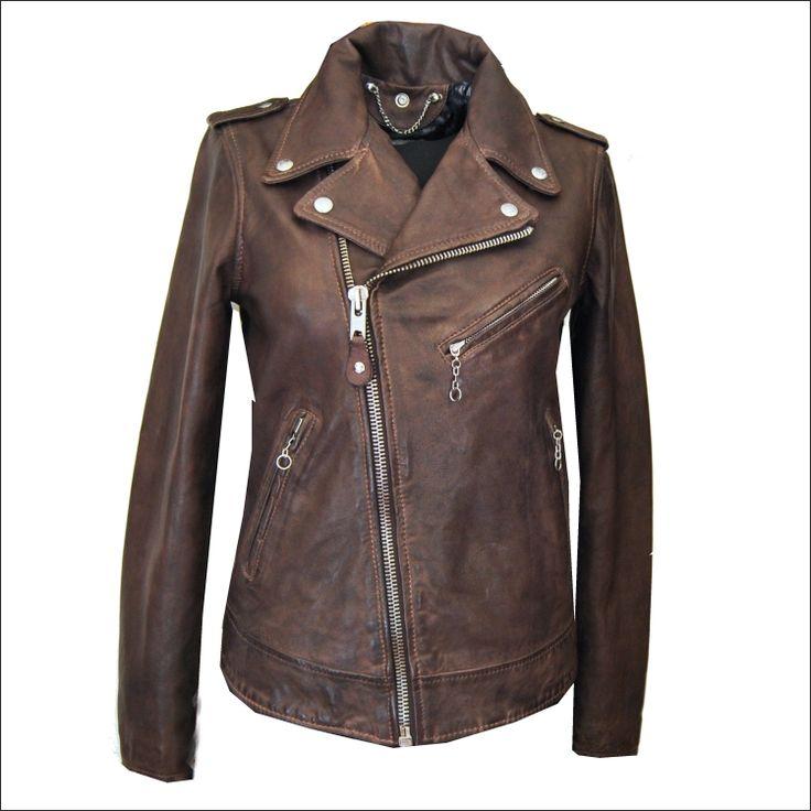Γυναικείο δερμάτινο SCHOTT N.Y.C. Μοντέλο: Γυναικείο Original Perfecto SCHOTT NYC Δέρμα: brown nappa vintage Τιμή: 415€