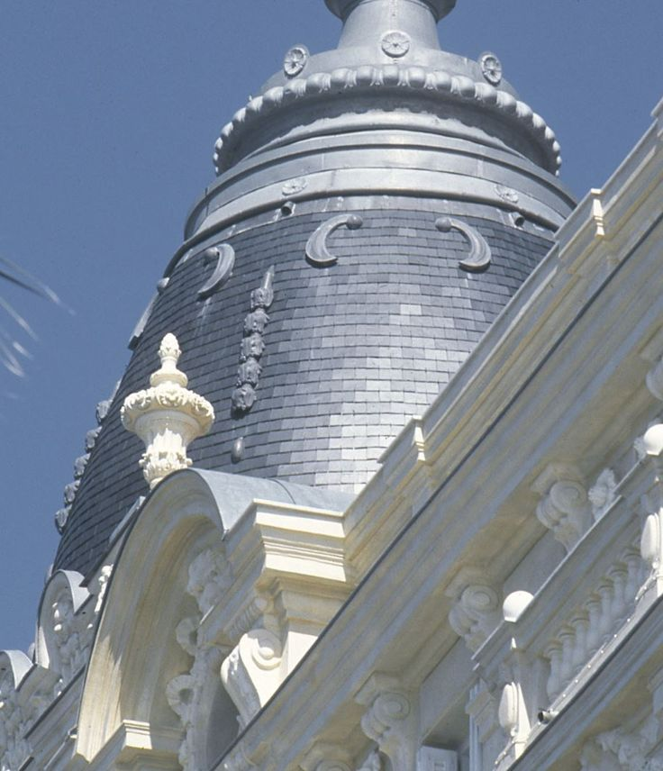 Roofing in Cannes (France) #Architecture #Roofing #Zinc #VMZINC #Ornaments #Decoration