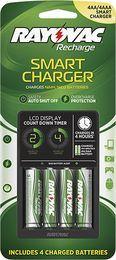 Rayovac - NiMH/NiCad AA/AAA Battery Charger, PS334-4B GEND