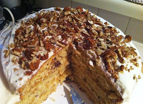 Trisha Yearwood's Iced Italian Cream Cake  Recipe adapted from Georgia Cooking in an Oklahoma Kitchen by Trisha Yearwood (c) Clarkson Potter...