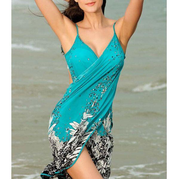 Women Lady Summer Beach Halter Towel Spandex Oversized Scarf Sunscreen Towel Shawl Scarves