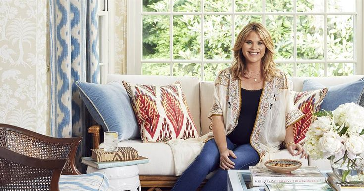 Jenna Bush Hager gives a tour inside her beautiful summer cottage