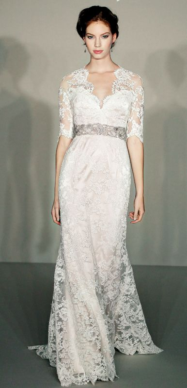 Jim Hjelm lace A-line gown I just LOVE this dress. Although I don't