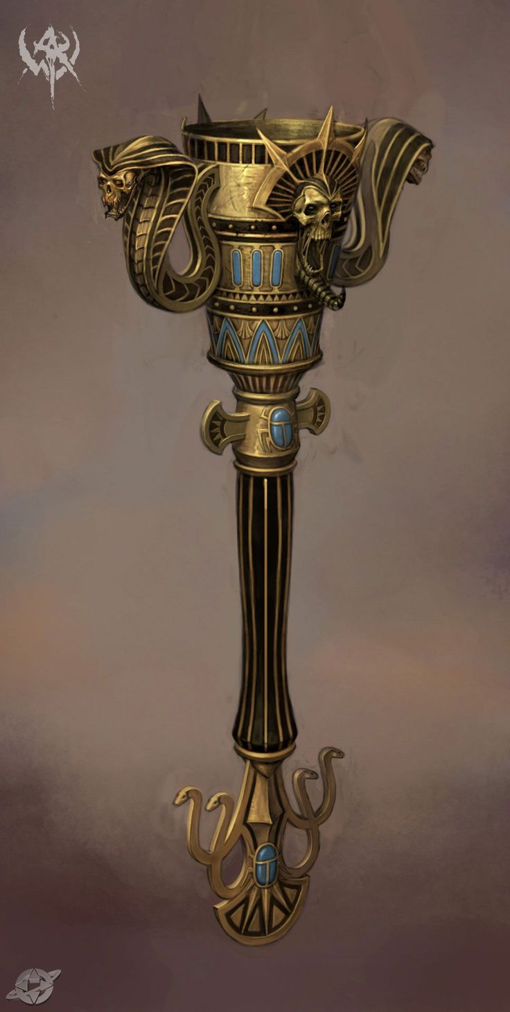 tomb kings chalice/hammer