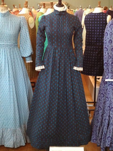 Pioneer prairie dresses made a huge comeback in the 1960s and 70s thanks to Laura Ashley.