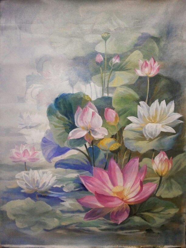 On canvas