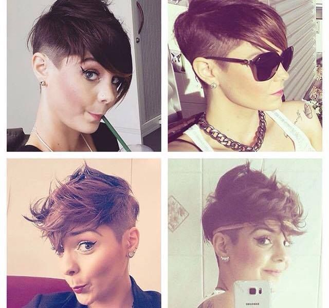 Wow, deze trendy kapsels moeten gezien worden! 13 funky korte kapsels voor trendy dames!
