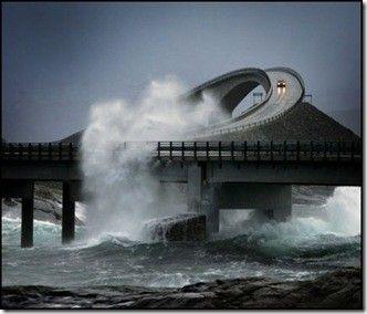 The Atlantic Road in Norway--- WHOA !!