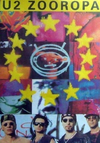 U2 Zooropa Bono The Edge Clayton Larry Mullen 24x36 Music Concert Poster Print Rare Limited by Mypostergallery, http://www.amazon.com/dp/B00A4JDQ7Q/ref=cm_sw_r_pi_dp_2lbIrb11R1396