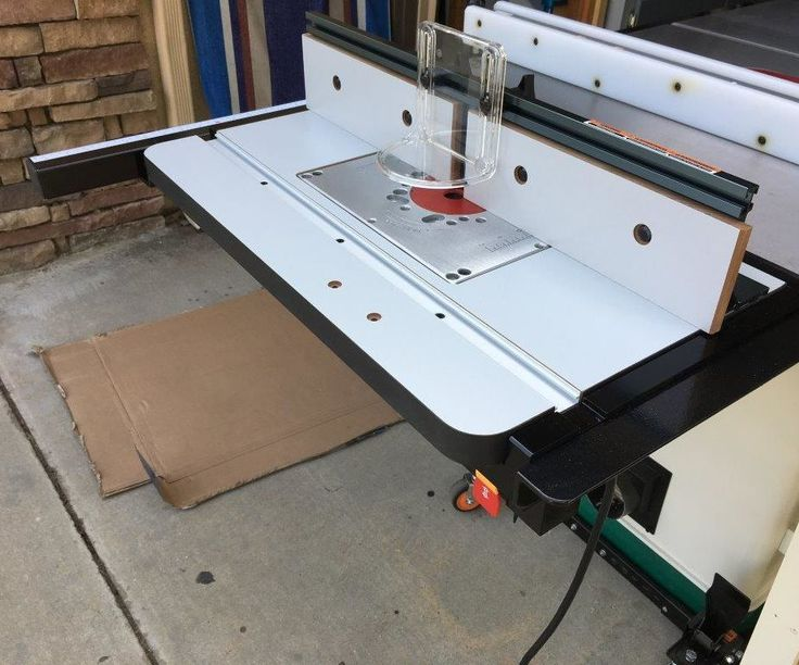Best 25 bosch router ideas on pinterest best wood router router table for tablesaw greentooth Image collections