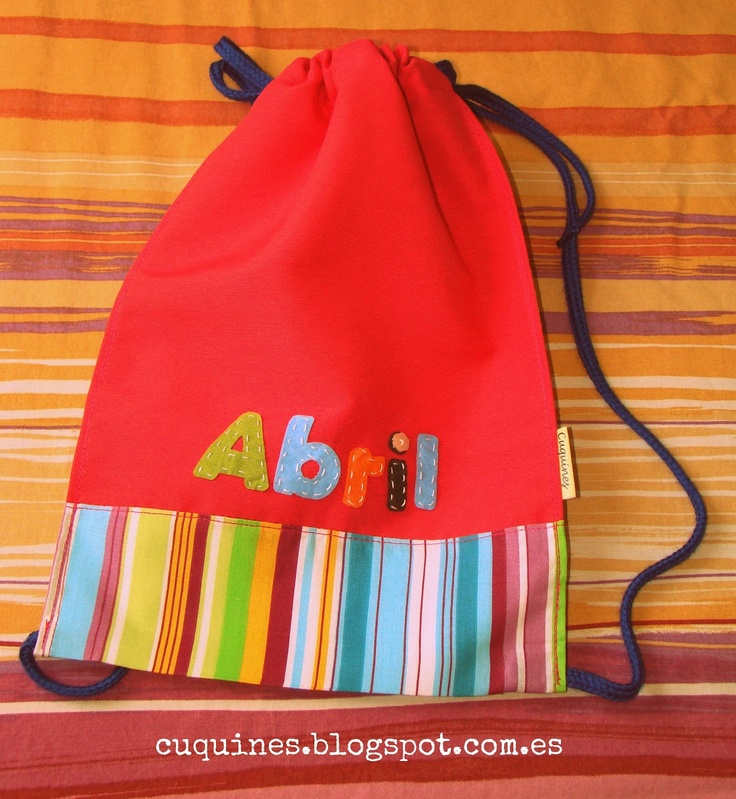 Cuquines: bag for girl