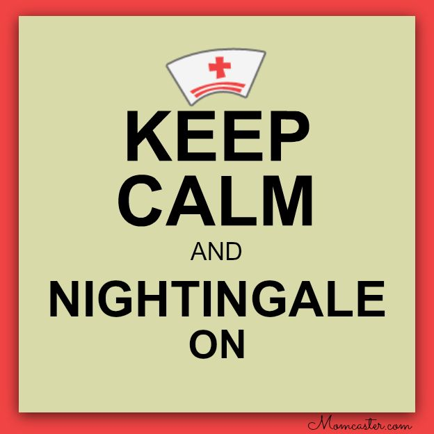 pinterest nurses week ideas | ... keep calm and nightingale on