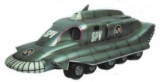 Here's a SPV from Captain Scarlet - merchandising from TV shows was in full swing during the 1970s