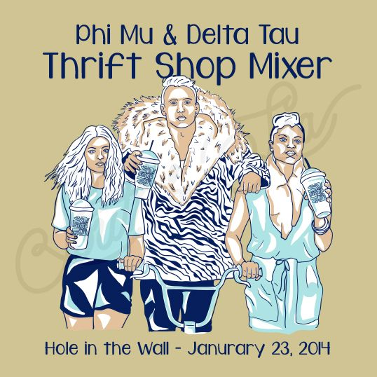 Sorority Fraternity Social Phi Mu Delta Tau Delta Thirft Shop Mixer South By Sea