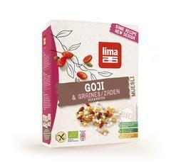 BEZGLUTENOWE MUSLI GOJI BIO 300 g - LIMA - Sklep ze zdrową żywnością - Smakosz