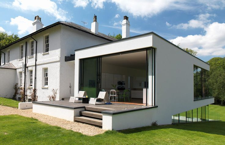Renovation And Modern Extension To A Listed Building Fusing Traditional And