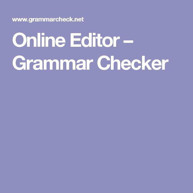 The 25+ best English grammar corrector ideas on Pinterest - speech format