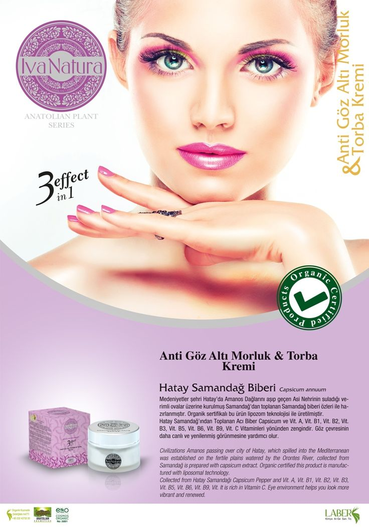 organic face cream 3 effects from Hatay Samandağ